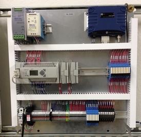 Standard SCADA control panel
