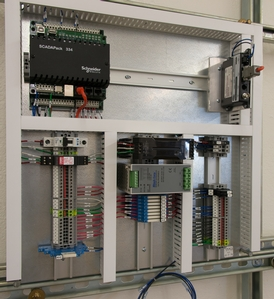 SCADAPack Control Panel